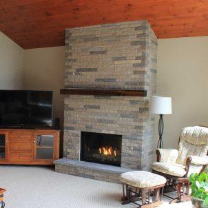 Stone Fireplace 2